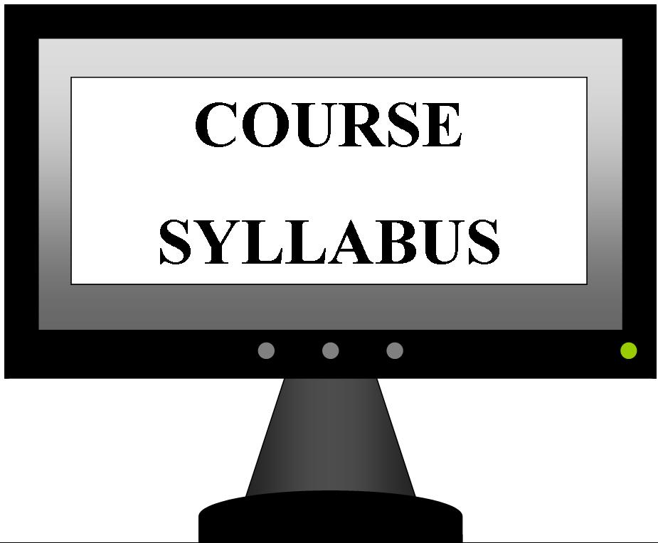 thesis course syllabus Ssci 594a syllabus, page 3 of 13 course notes as a result of individual student thesis work existing in various stages of development, this course accommodates both.